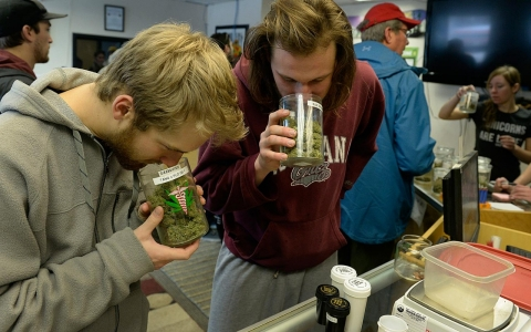 Thumbnail image for Photos: State-licensed marijuana shops open in Colorado