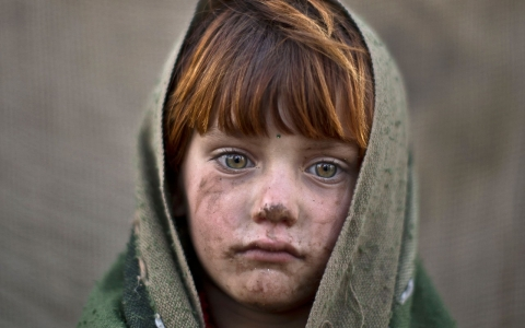 Thumbnail image for Photos: Portraits of Afghan refugee children