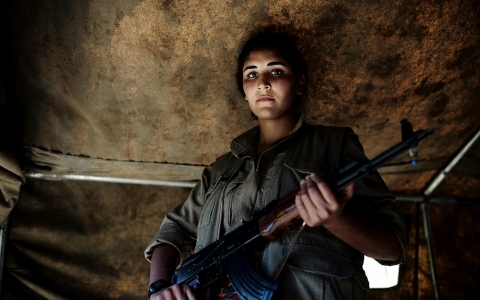 Thumbnail image for Photos: Fighters of the PKK