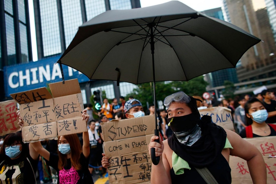 Epa Stands For >> Hong Kong leader stands firm as both sides raise stakes ...