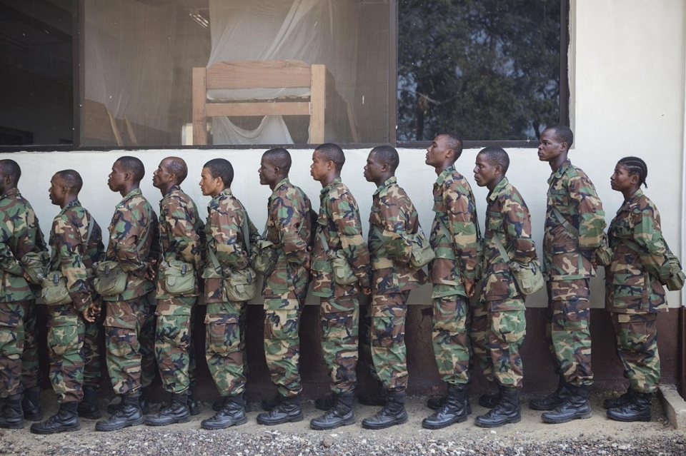 Too small to succeed? Liberia's new army comes of age | Al