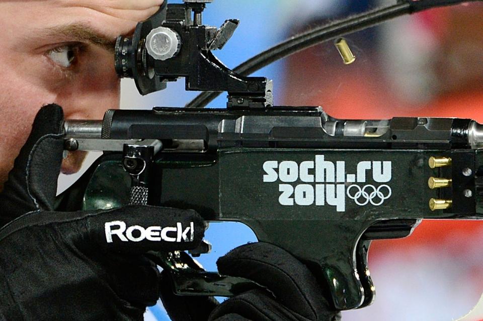 Biathlon rifle caliber