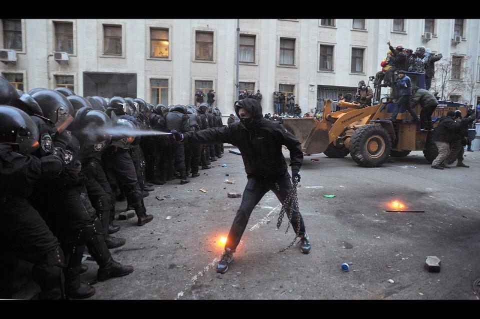 Photos: Ukraine's Winter of Discontent | Al Jazeera America
