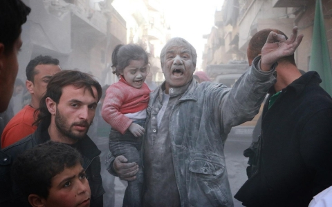 Thumbnail image for Photos: Aleppo struggles to survive