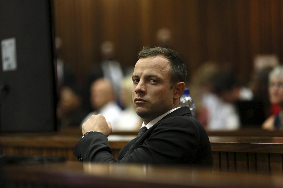 Oscar Pistorius Trial Pistorius media frenzy...