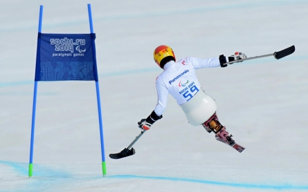 Photos: The paralympics get underway in Sochi