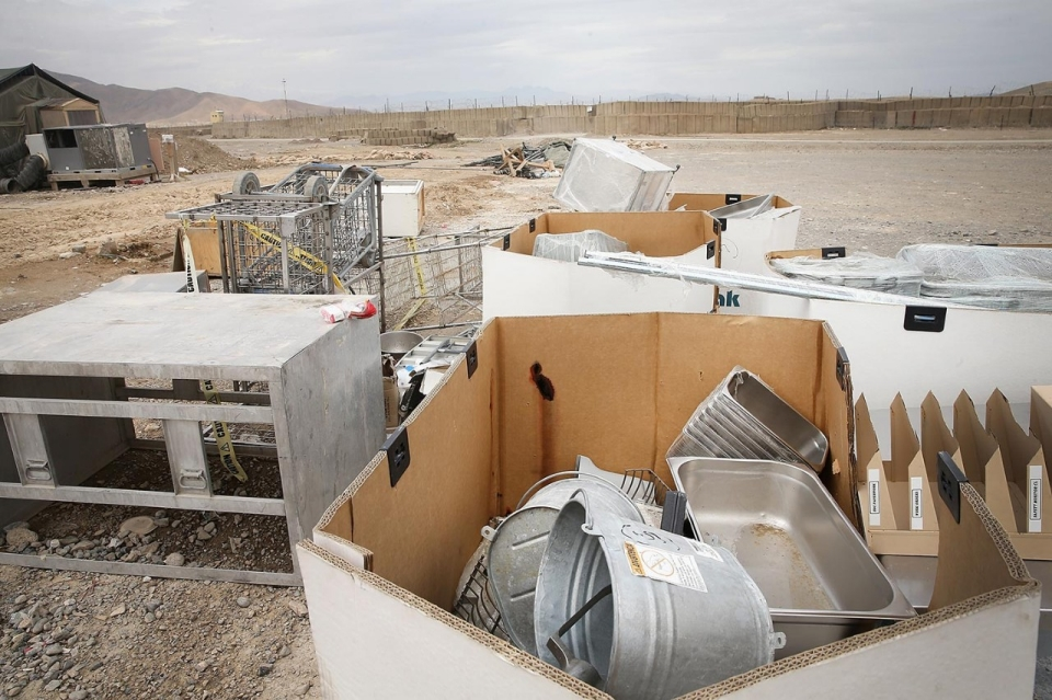 Photos An Abandoned Operating Base In Afghanistan Al Jazeera America