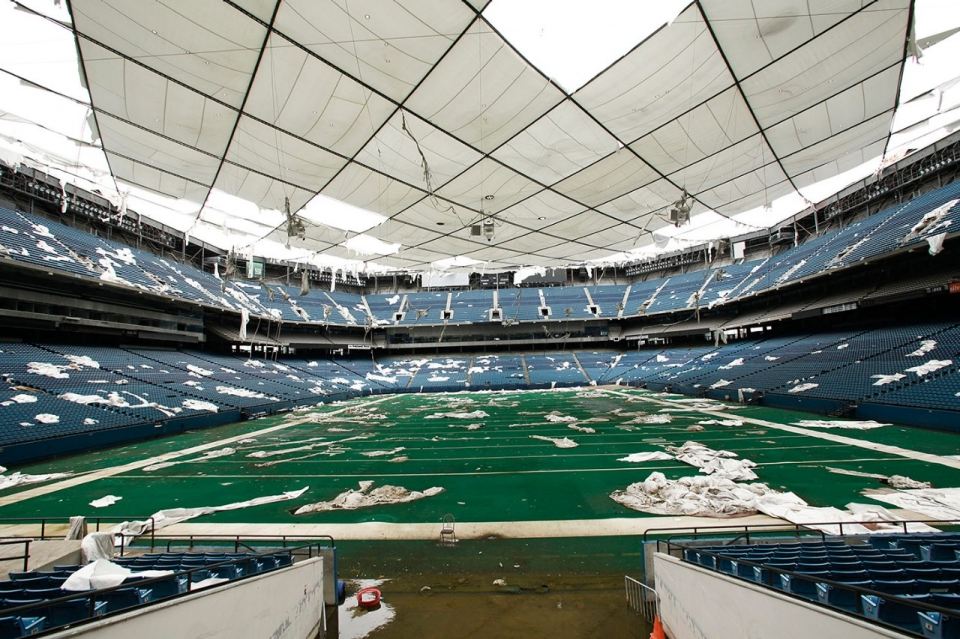 Photos Pontiac Silverdome To Be Auctioned Off Piece By