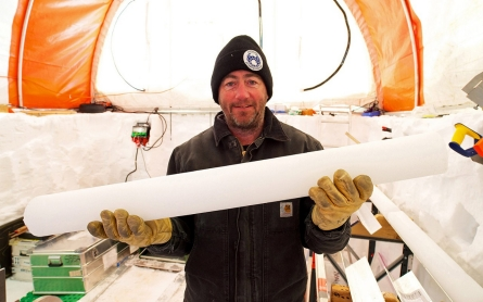 Photos: Antarctic ice cores unlock Earth's climate record