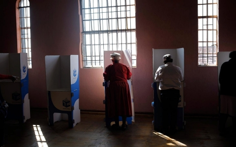 Thumbnail image for Photos: South African elections