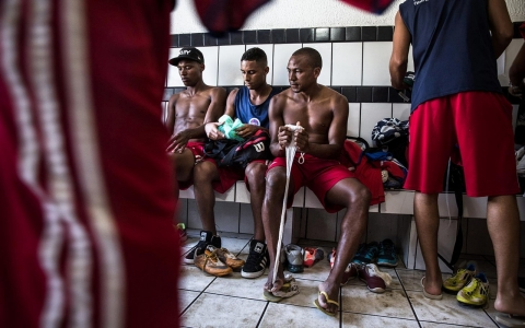 Thumbnail image for Photos: A Day in the life of a Brazilian footballer