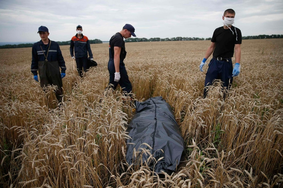 Ukraine Fighter Jets Shot Down As Bodies Of Some Mh17