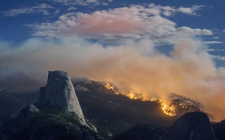 Photos: Fire in Yosemite