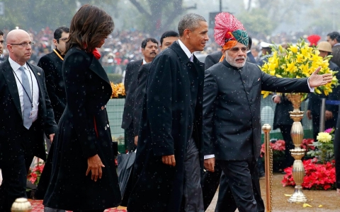 Thumbnail image for Photos: President Obama attends India's Republic Day parade