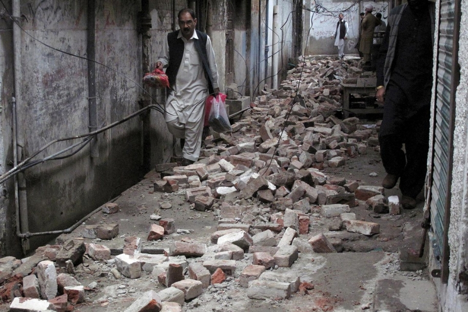 Massive Earthquake Shakes South Asia Al Jazeera America