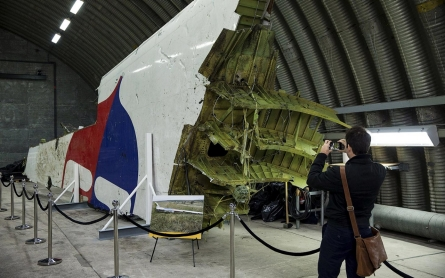 Photos: The wreckage of MH17 is reconstructed by investigators
