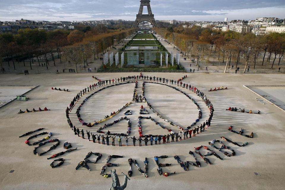 Photos Climate Talks Paris Protesters Al Jazeera America