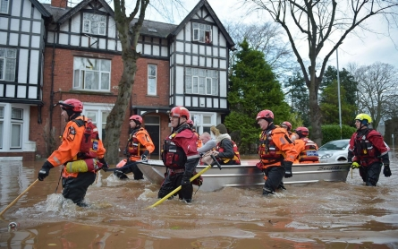 Photos: Flooding in Carlisle, England
