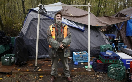 Photos: Life in US tent cities
