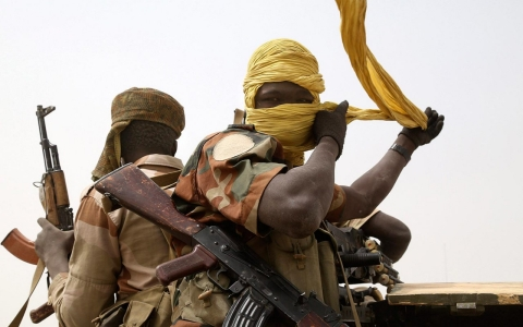 Thumbnail image for Photos: Chadian troops battle Boko Haram