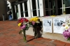 Chapel Hill shooting victims memorials