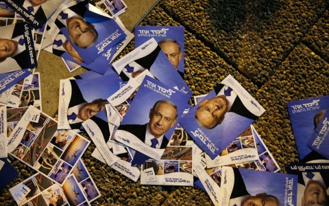 Thumbnail image for Photos: Israel prepares for critical election