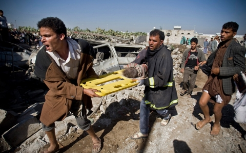 Thumbnail image for Photos: The aftermath of Saudi-led coalition airstrikes in Yemen