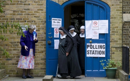 Photos: Britain goes to the polls