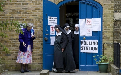 Thumbnail image for Photos: Britain goes to the polls