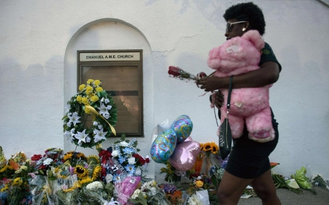 Thumbnail image for Photos: Grief and shock after shooting at South Carolina church