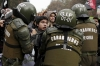 Chile students demonstrations education reform