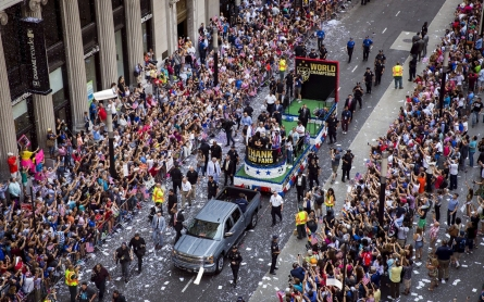 Photos: US women's soccer team celebrated in NYC ticker-tape parade