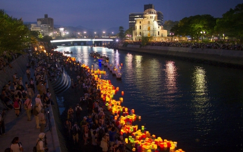 Thumbnail image for Photos: Hiroshima marks 70th anniversary of first atomic bombing