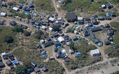 Thumbnail image for Photos: Life in Calais migrant camp the New Jungle