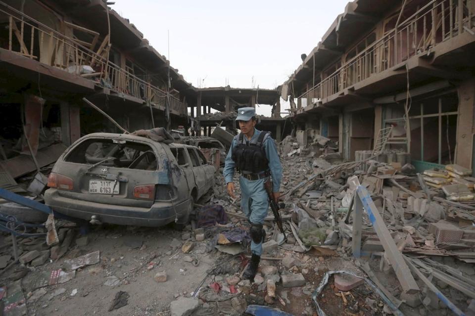 Kabul truck bomb