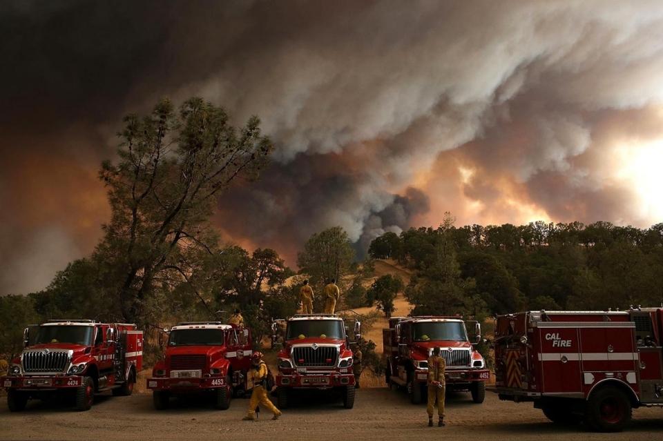 Photos: Wildfires Burn Across Northern California | Al ...