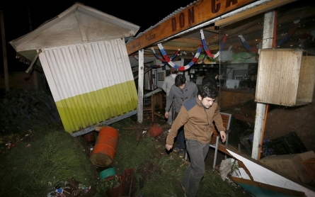 Photos: Earthquake in Chile