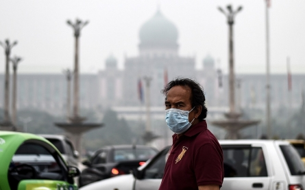 Photos: Haze from forest fires hovers over Southeast Asia