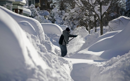 Photos: East Coast digs out from massive blizzard