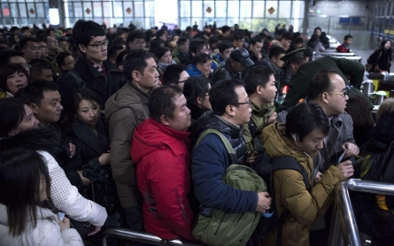 Photos: In China, massive migration for Lunar New Year gets underway