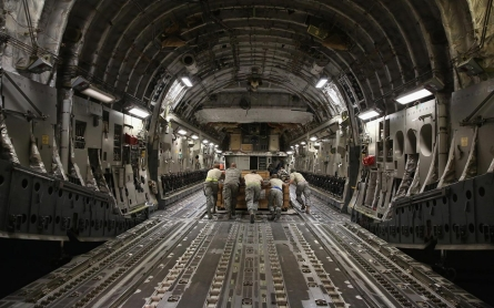 Photos: Inside a secret US air base in the Gulf
