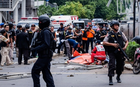 Photos: Jakarta bombing and shooting