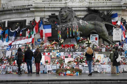 Photos: Paris marks one year since Charlie Hebdo attacks