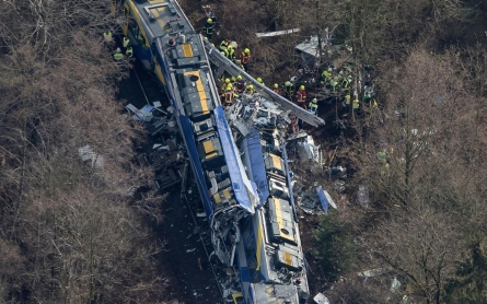 Photos: Two trains collide in Germany