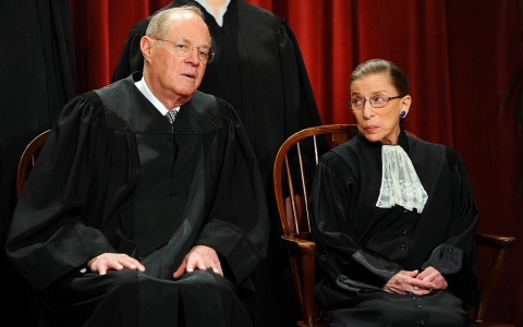 Kennedy and Ginsburg