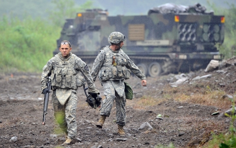 Are US Troops In South Korea Still Necessary Al Jazeera America - Us army bases in korea map