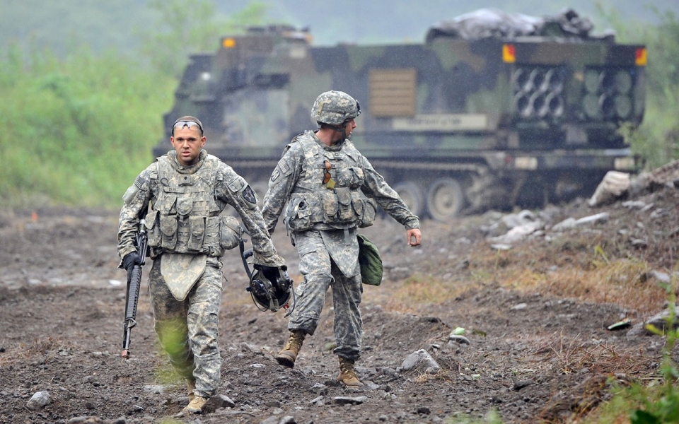 Are US Troops In South Korea Still Necessary Al Jazeera America - Us bases in korea map