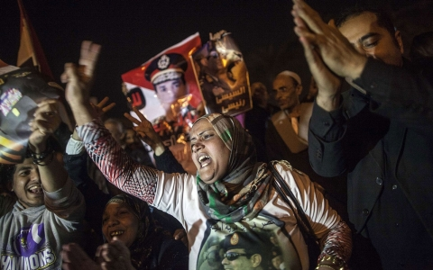 Thumbnail image for Opinion: Egypt's military-backed rulers win big, by default