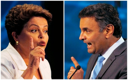 Brazilian presidential candidates close in polls – and positions