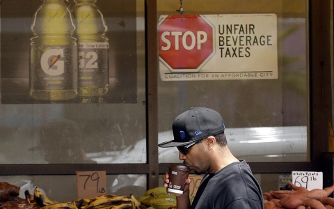 Beverage tax San Francisco